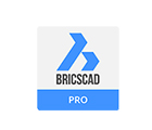Logo Bricscad clone Autocad compatible with AutoFLUID 2009