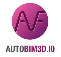 logo AUTOBIM3D logiciel cao de dessin technique HVAC