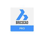 Logo Bricscad clone Autocad compatible with AutoFLUID 2009
