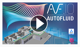 Demo video HVAC AUTOFLUID networks in Bricscad BIM IFC model