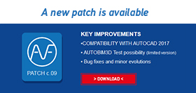 AUTOFLUID 10 Compatibility with AutoCAD 2017 - free trial version for AUTOBIM3D